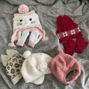 Baby Girl Beanies Bundle